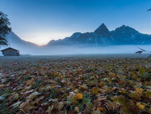 Herbst Sonnenspitze