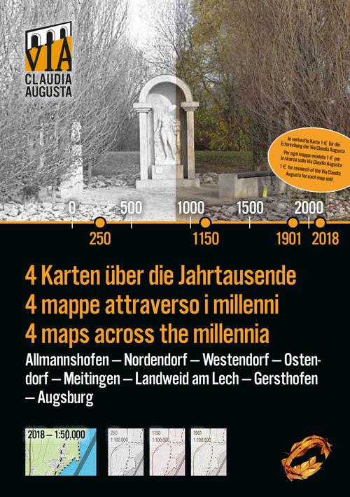 Titelseite der Historischen Karte Augsburg Nord