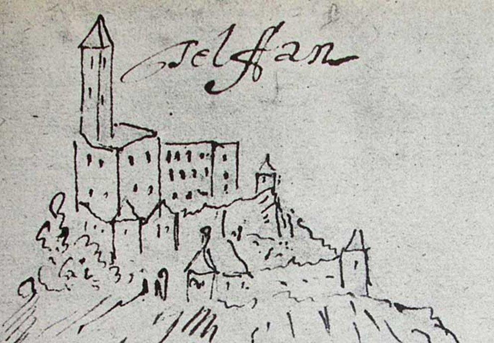 Dipinto Castel Televana