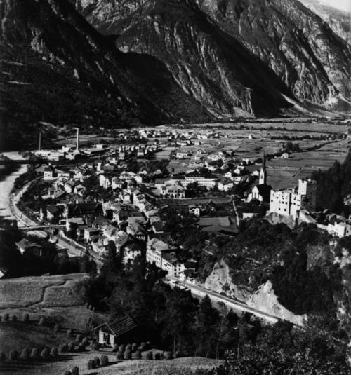 Foto Landeck Mittel nah von Südwesten