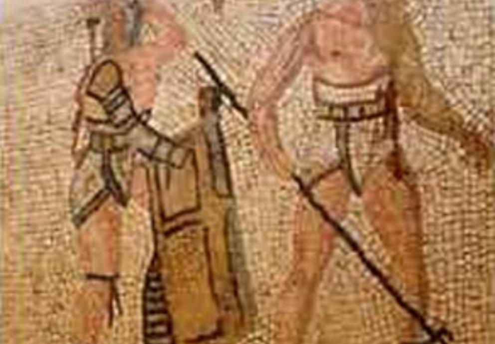 Mosaico Dell Epoca Romana Trovato