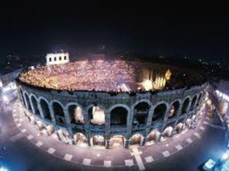 Verona Arena Dall Esterno