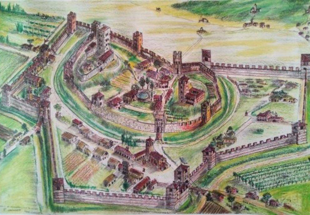 Ricostruzione Castello Di Montebelluna