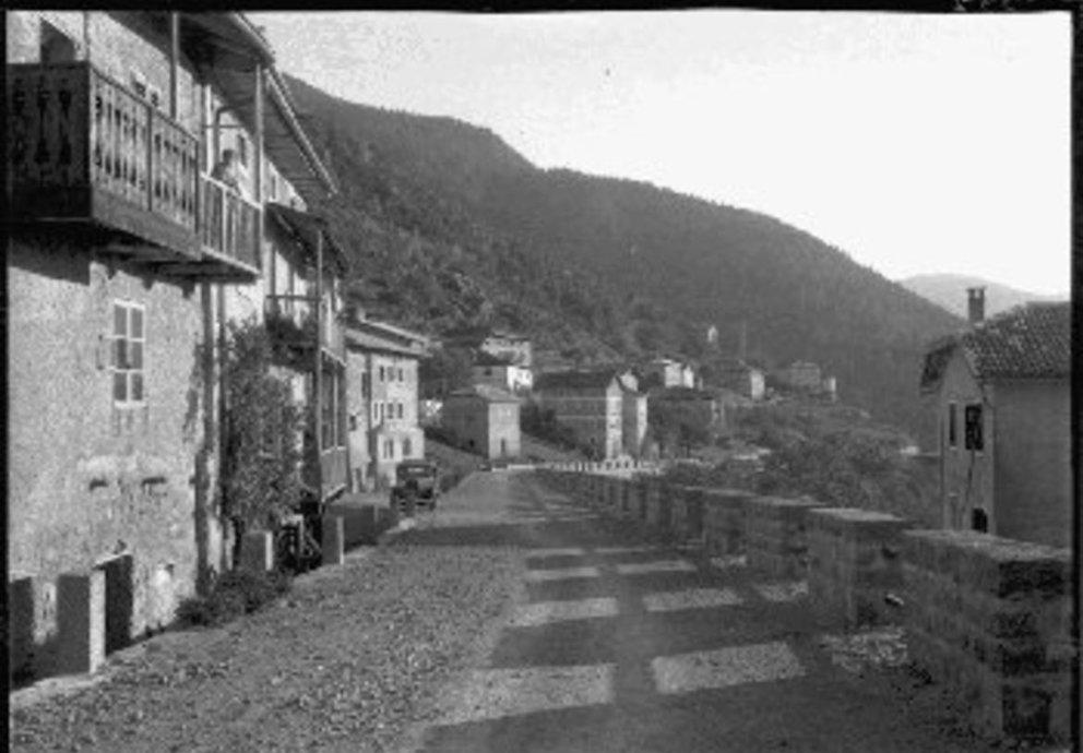 Val Di Cembra Sover Frazione Piscine Veduta del Paese