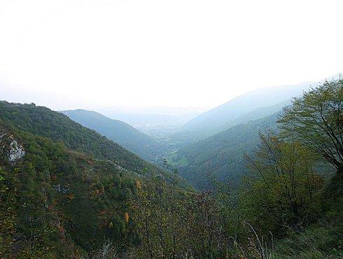 Blick vom Praderadego