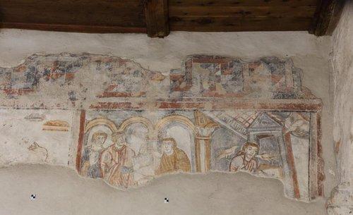 Fresko St Benedikt Mals