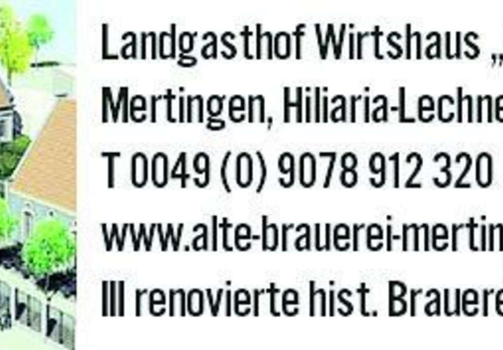 Mertingen, Alte Brauerei Mertingen