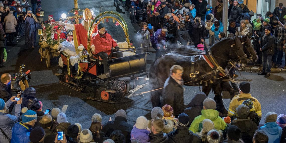 Nikolausumzug Lechaschau