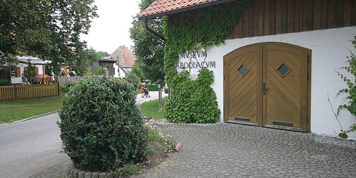 Römisches Museum Epfach, Kastell Abodiacum, Foto Tschaikner