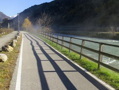 Radweg Plaus