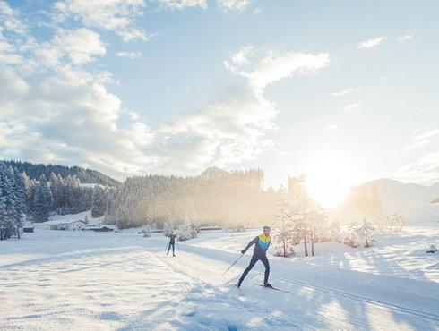 Winter Langlaufen Berwang