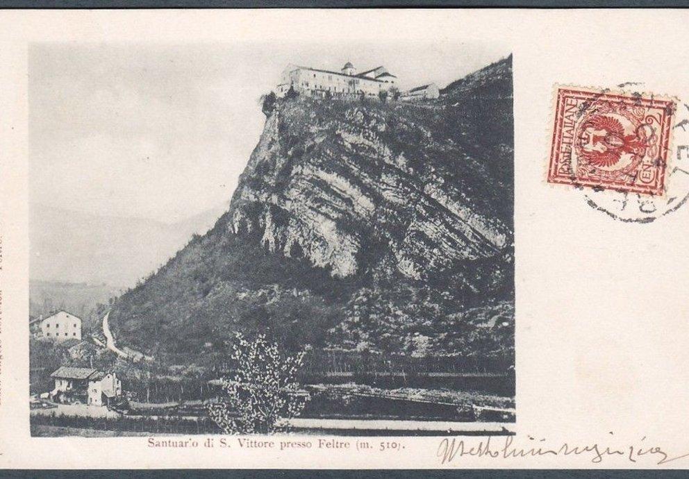 Santuario Dei Ss Vittore E Corona Foto Storica