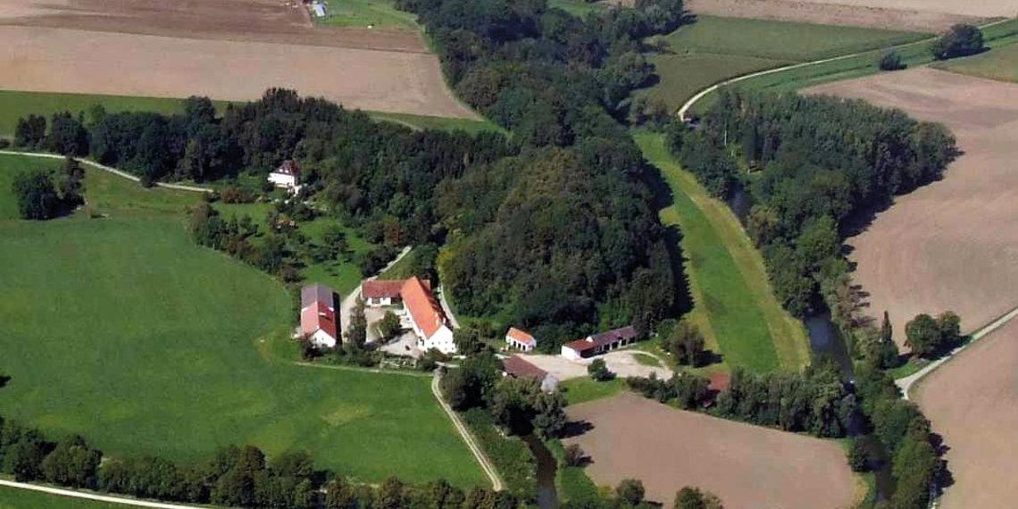 Ehemaliger Standort Submuntorium Burghöfe Druisheim Mertingen Lechtal, Foto Deininger