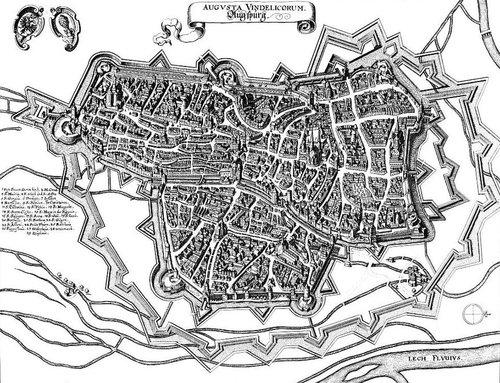 Merian Augsburg in 1643
