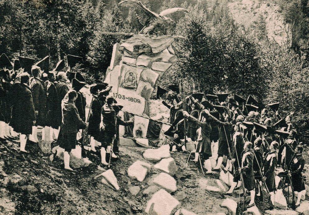 Postkarte Pontlatzfeier 1904
