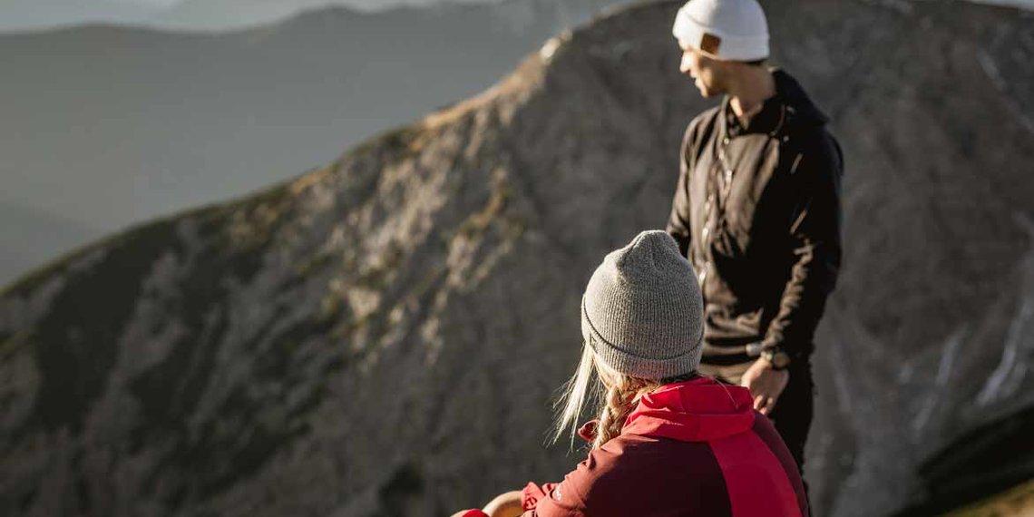 Herbst Imst Tourismus Bergsteigen