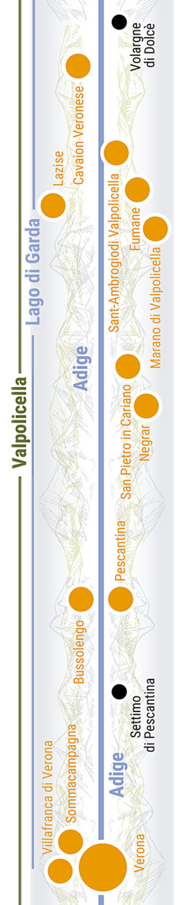Übersichtskarte rechts Teilabschnitt 37p Valpolicella