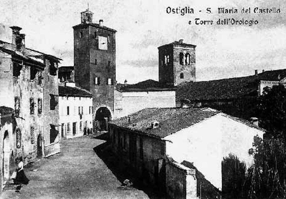 Alte Ansicht von Ostiglia