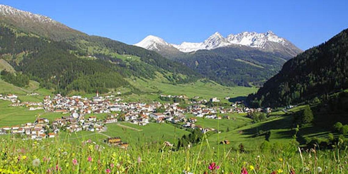 Dorf, Wiese