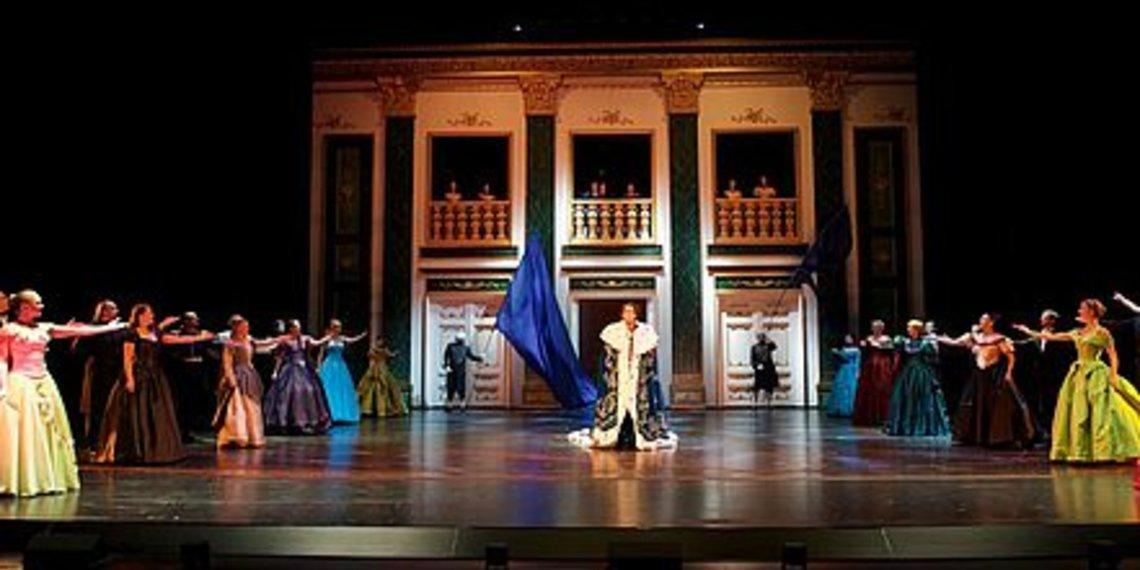Musical Ludwig II. mit Matthias Stockinger als Aludwig