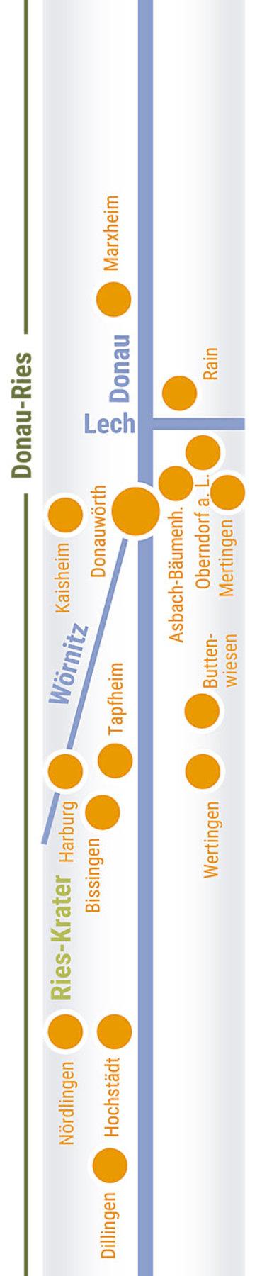 Übersichtskarte rechts Teilabschnitt 01
