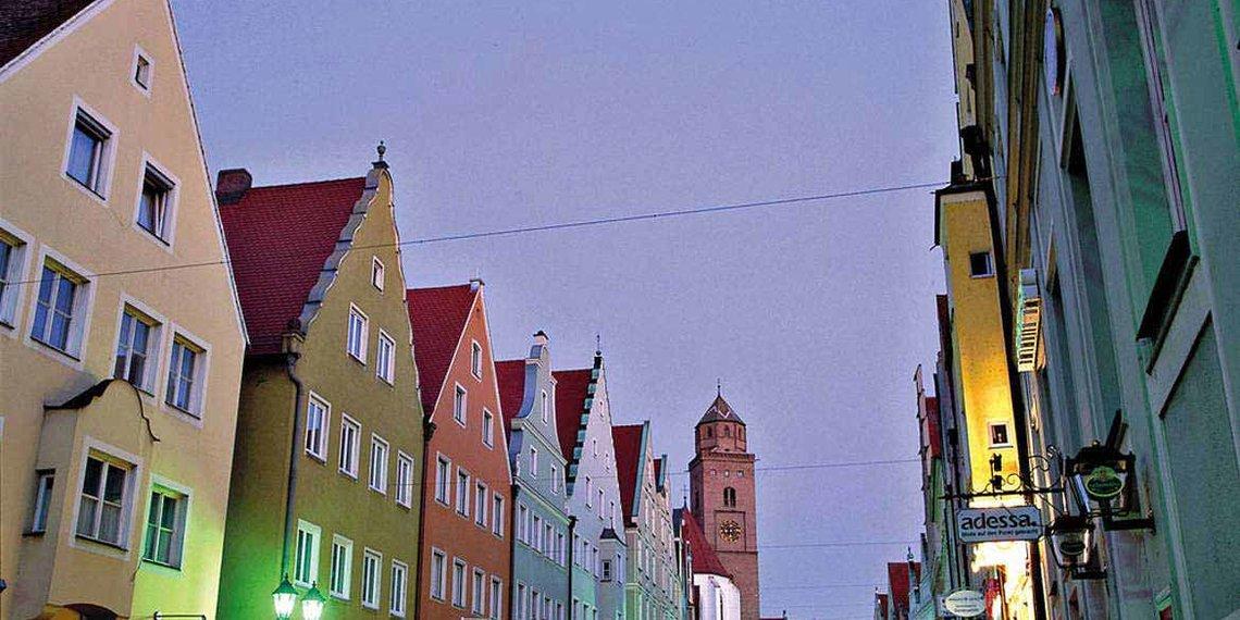 Reichsstraße in Donauwörth, Foto von Lois Lammerhuber