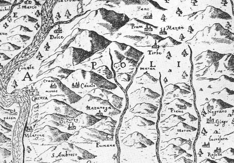 Mappa Valpolicella Di Giovanni Nacchio