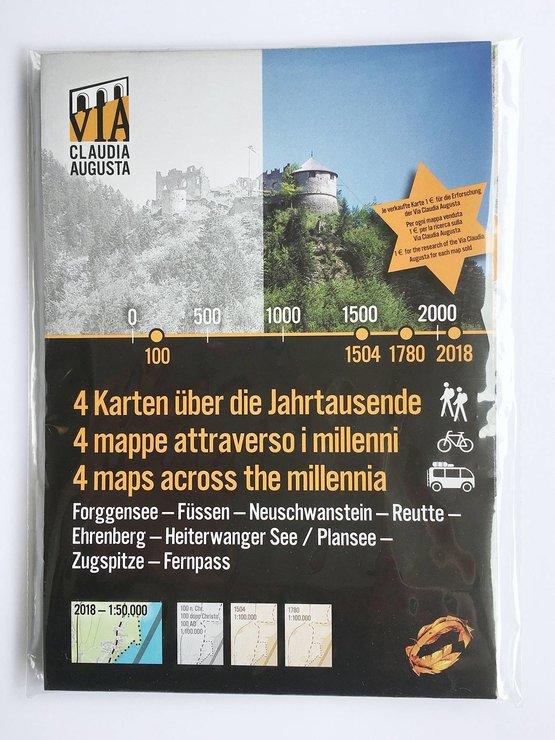 4 Karten der Jahrtausende