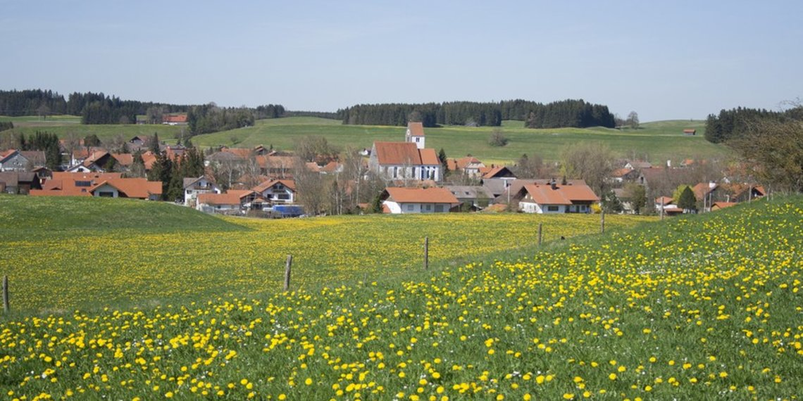 Hohenfurch Auerberland Pfaffenwinkel, Foto Hohenfurch