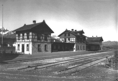 Bahnhof in Füssen