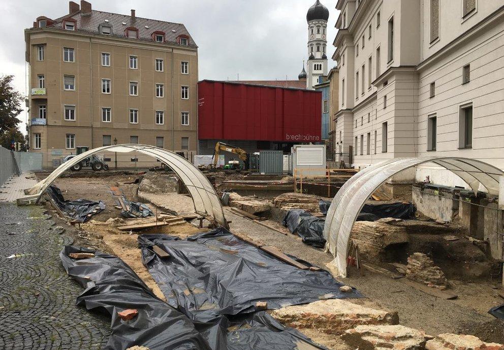 Grabungen in Augsburg