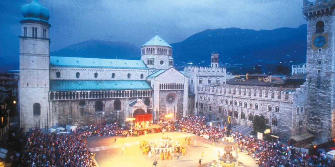Trento, Fest, Domplatz