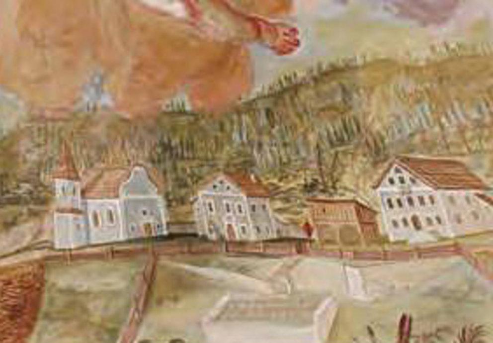Fernpasshöhe Gemälde