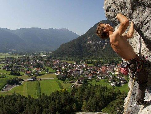 Klettern Foto Imst