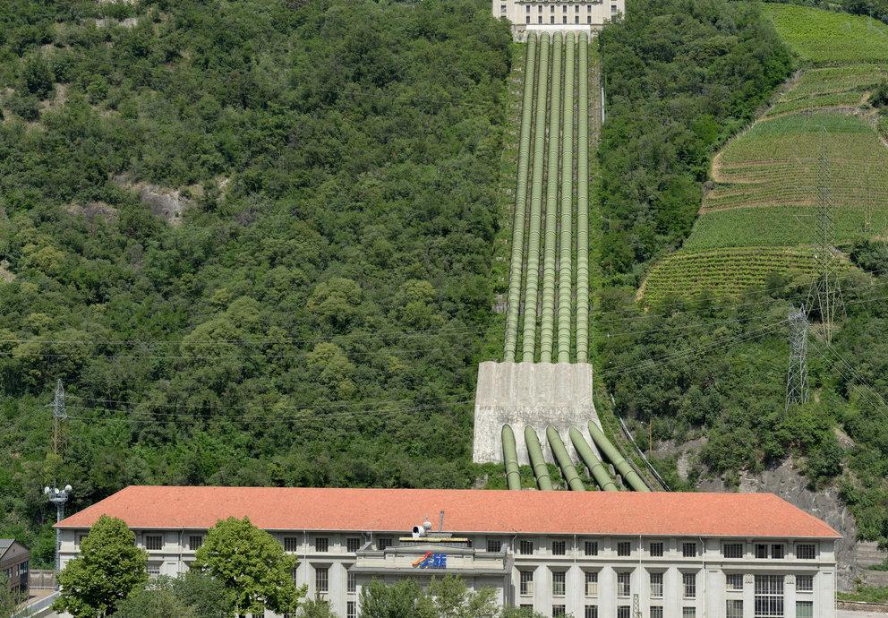 Wasserkraftwerk Kardaun, Foto: Wolfgang Moroder
