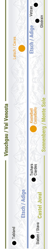 Übersichtskarte rechts Teilabschnitt 23 Talenge