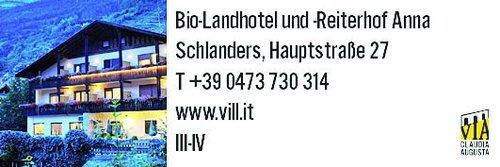 Schlanders Biolandhotel Anna Vill