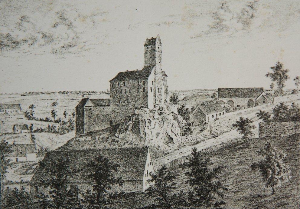 Burg Katzenstein, Foto: Wikipedia Gemeinfrei
