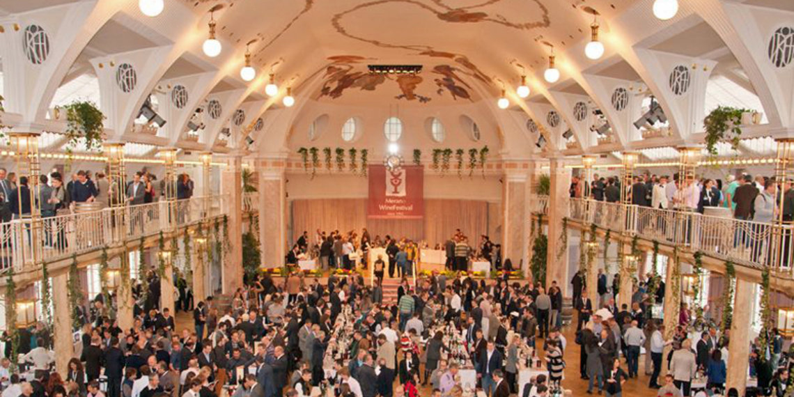 Festsaal Foto Merano Wine Festival