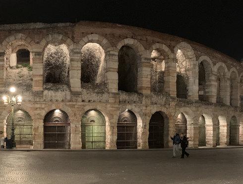 Panorama Arena Nacht