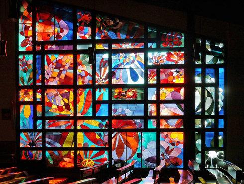 Pfarrkirche Algund Fenster