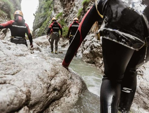 Sommer Imst Tourismus Canyoning