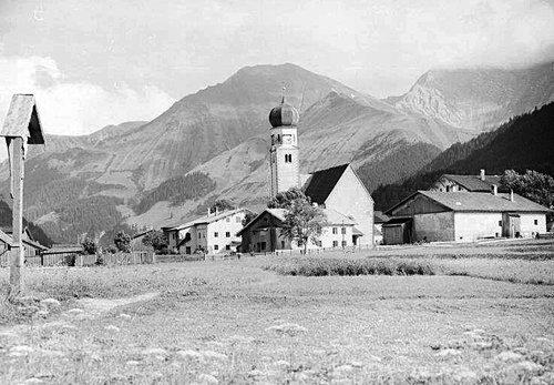 Alte Ansicht Von Heiterwang