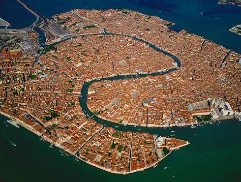 Venice Old Town Lagoon
