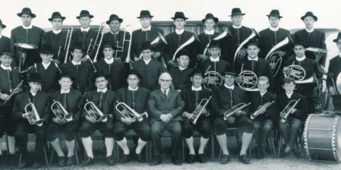 Historisches Bild Musikverein Unterdiessen Oberdiessen
