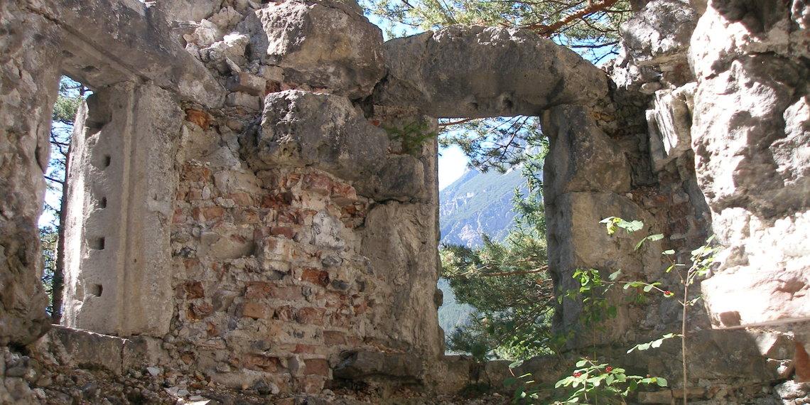 Schloss Ruine Im Fernsteinsee Klaus Graf