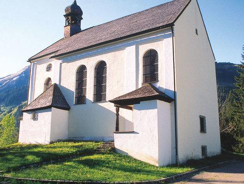 Zunftkirche Bichbach Tiroler Zugspitz Arena, Foto Anton Vorauer