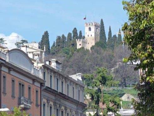 Blick auf Castello