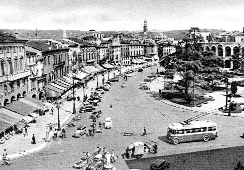 Piazza Bra Verona Old