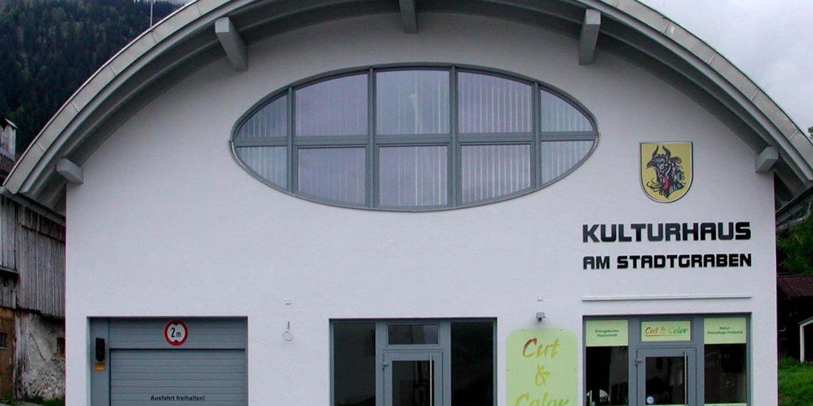 Vils Tirol Kulturhaus, Foto Robert Keller